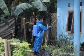 Zona merah Kota Bogor kembali disemprotkan disinfektan
