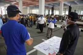 Dishub Surabaya terapkan protokol kesehatan transportasi di terminal