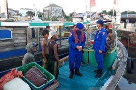 Polres Bangka Barat perketat pengawasan kapal di pelabuhan nelayan