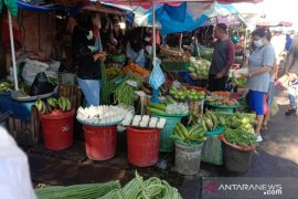 Harga sayuran di pasar tradisional Ambon normal