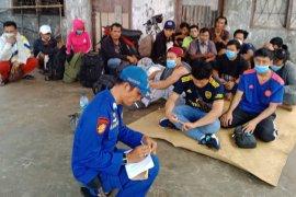 Polres Tanjung Balai amankan 17 TKI ilegal dari  Malaysia