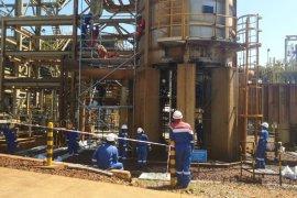 Pasca-kebakaran, Pertamina EP mulai pulihkan CPP Gas Gundih