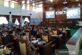 Aksi walk out warnai sidang paripurna DPRD Rejang Lebong