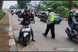 Pelanggar PSBB Jakarta disuruh pulang ke rumah