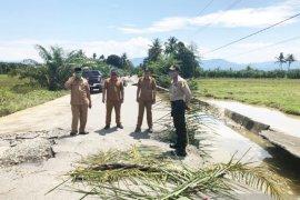 Aceh Barat anggarkan Rp400 juta tangani kerusakan jalan pasca banjir