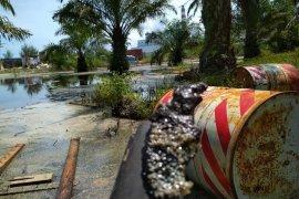 Temuan tumpahan oli bekas, Kanopi laporkan PT TLB ke Polda Bengkulu