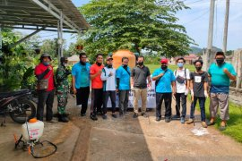 Pemuda Bangka Tengah bantu pemerintah cegah penyebaran virus COVID-19