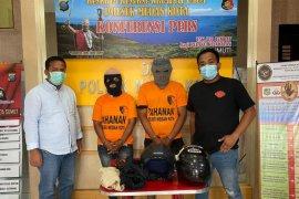 Polisi ringkus pasutri pelaku curanmor di Medan