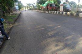 Jalan terancam rusak parah mulus kembali