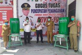 TPL sumbang 40 unit sarana cuci tangan ke tim COVID-19 Simalungun