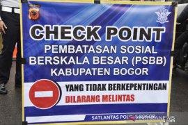 Kabupaten Bogor tetapkan 55 titik pemeriksaan PSBB