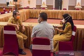 Satu keluarga positif COVID-19 di Riau