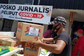 Komunitas Tionghoa gandeng Rumah Jurnalis Pontianak salurkan bantuan