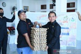 Pemkab Bangka terima bantuan 80.982 butir telur