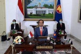 Presiden Jokowi: 3 negara mitra ASEAN jadi kunci untuk atasi COVID-19