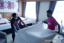 Foto - Hotel Damhil Gorontalo jadi tempat tinggal tenaga medis COVID-19