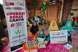 ACT berikan Beras Gratis Untuk Masyarakat