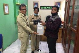 """Pertamina Rantau salurkan """"hand sanitizer"""" ke Dinkes Aceh Tamiang"""
