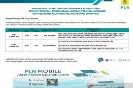 Jadwal pemadaman aliran listrik UP3 Gorontalo Page 1 Small