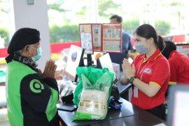 Mitra Gojek apresiasi bantuan ratusan ribu voucher sembako di tengan COVID-19