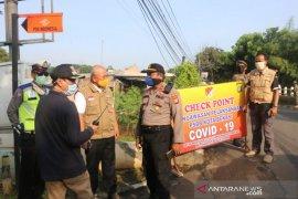Wali Kota Bekasi tinjau 6 titik perbatasan pada hari pertama PSBB