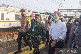 KRL mengangkut 110 ribu penumpang dari Stasiun Bogor