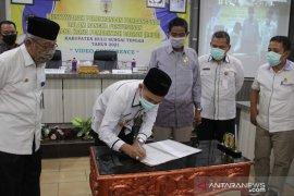 Advertorial - DPRD HST sampaikan pokok pikiran pada Musrenbang RKPD 2021