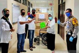 Ditlantas salurkan 350 APD untuk rumah sakit dan puskesmas