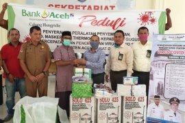 Abdya terima bantuan APD dari Bank Aceh cabang Blangpidie
