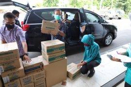 Pemkot Surabaya terima bantuan 10 ribu masker kain untuk dibagikan ke warga