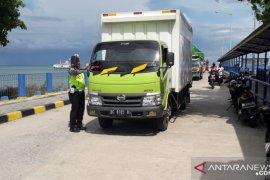 Polres Bangka Barat tingkatkan pengamanan Pelabuhan Tanjungkalian