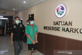 Polres Metro cek kandungan narkoba pada rambut dan darah Naufal Samudra