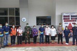 Bupati Karo apresiasi protokol pencegahan penyebaran COVID-19 di Pabrik AQUA