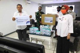 Pemerintah bagikan 20.000 masker bagi warga di DAS Citarum