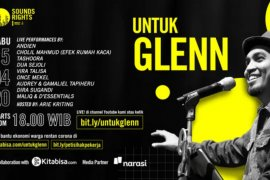 Once Mekel, Maliq & D'Essentials menyanyikan tribute untuk Glenn Fredly