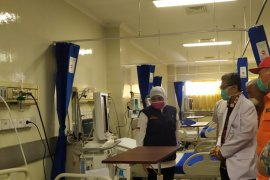 Khofifah apresiasi sumbangan Relawan Jatim untuk tambah kapasitas tempat tidur di RSUA