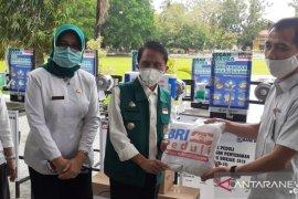 Pemkab Gorontalo dapat bantuan sarana cuci tangan dari BRI Limboto