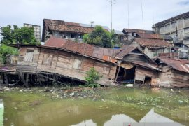 Kota Jambi antipasi terjangan banjir dadakan saat hujan deras