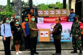 Pengusaha Taiwan sumbang APD kepada BPBD Bali