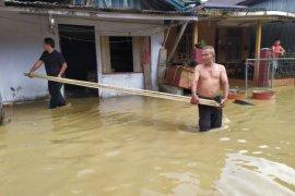 Banjir akibat curah hujan tinggi rendam dua desa di Simeulue