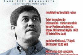 Pengusaha perikanan Jatim M Najikh meninggal dunia