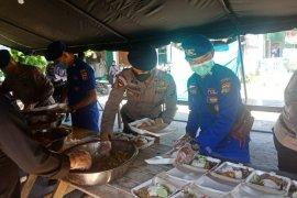 TNI-Polri Bangka buka dapur umum