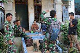 Purna tugas TMMD, prajurit pamitan ke warga