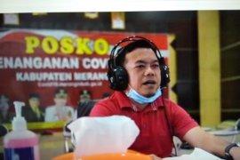 """Bupati Al Haris berdendang lagu  dangdut """"Virus Corona"""" ajak warga waspada"""