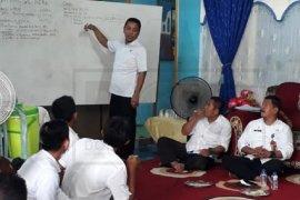 Sekda Tanjab Timur Sosialisasikan Desa Tanggap Darurat Covid-19 dan PKTD Bankeu