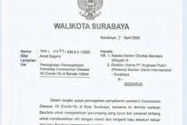 Alasan Wali Kota Risma kirim surat edaran ke Bandara Juanda Surabaya
