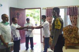 MGS berikan APD, masker dan pembersih tangan untuk masyarakat di KKT