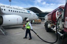 Konsumsi avtur di Bandara Soetta anjlok 75 persen