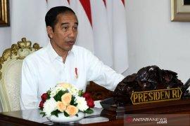 Presiden Jokowi evaluasi penerapan PSBB
