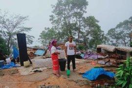 Angin puting beliung porak porandakan  12 rumah warga di Aceh Tenggara